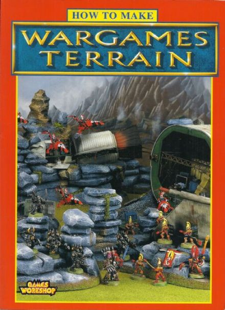 How to Make Wargames Terrain by Nigel Stillman (1996 edition) A4 paperback book